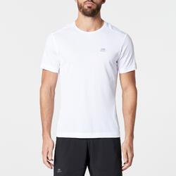 RUN DRY MEN'S RUNNING T-SHIRT WHITE GLACIER