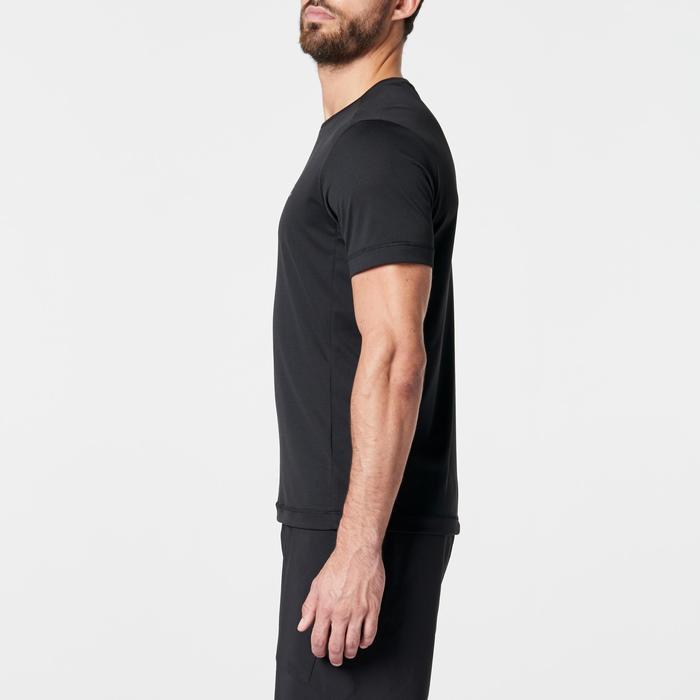 T SHIRT RUNNING HOMME RUN DRY NOIR