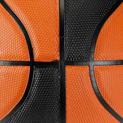 Basketbal B300 maat 7 oranje/zwart - 126312