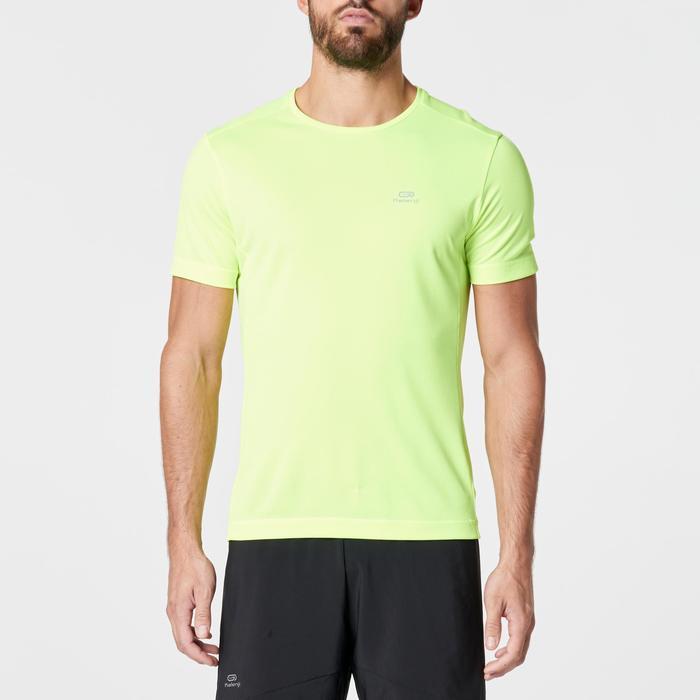 T-shirt Run Dry heren geel