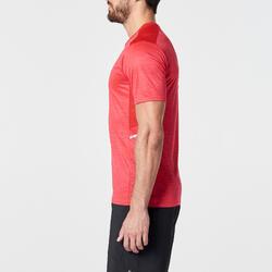 RUN DRY+ MEN'S RUNNING T-SHIRT RED