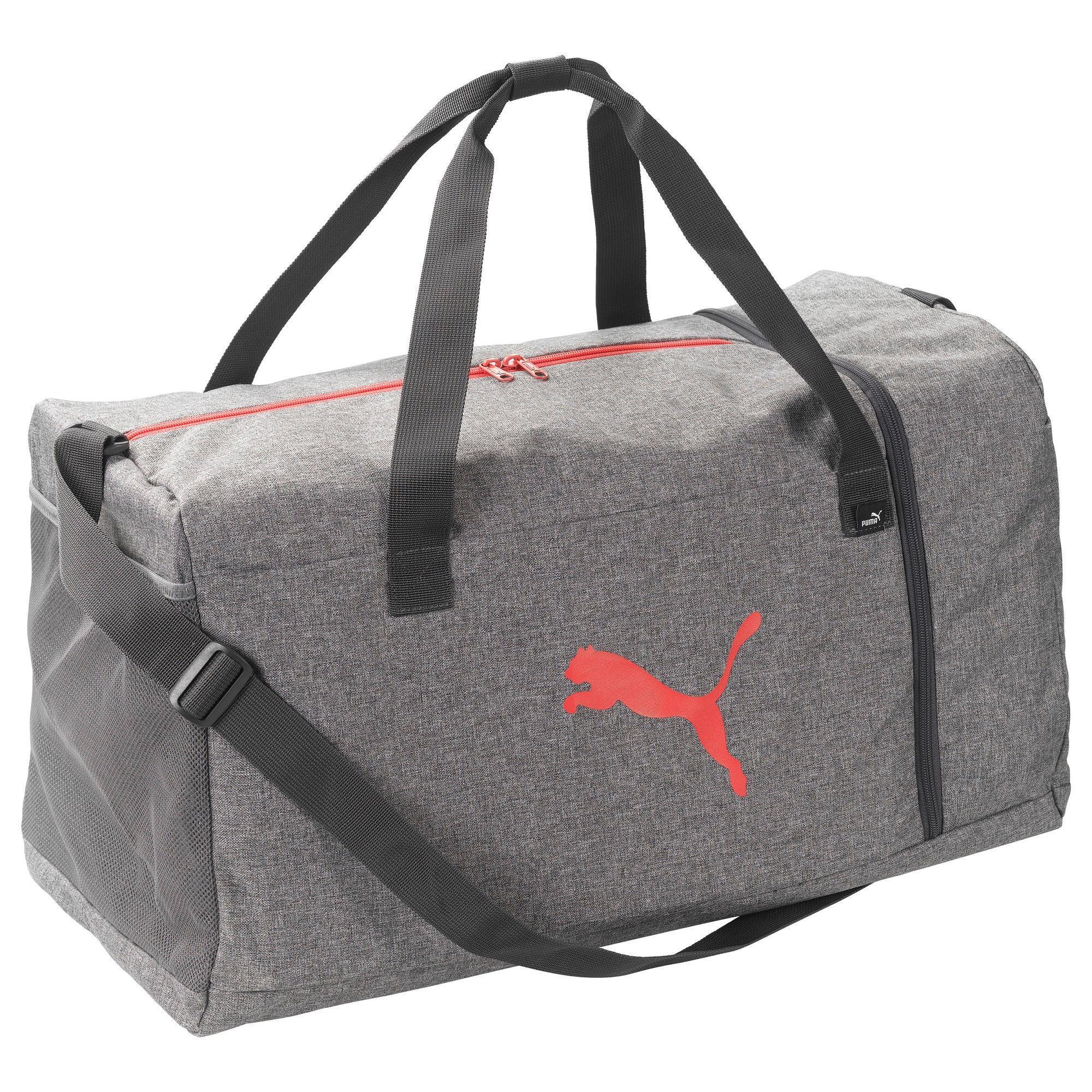 2ad8b6b3277 Puma tassen en bagage sporttas fitnesstas puma l grijs. ontworpen voor: het  meenemen van