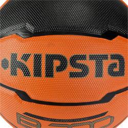 Basketbal B300 maat 7 oranje/zwart - 126316