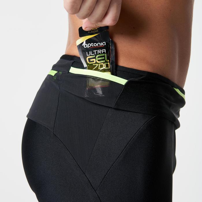 Corsaire trail running noir jaune homme - 1263265
