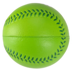 Honkbal foam Big Hit groen - 126347