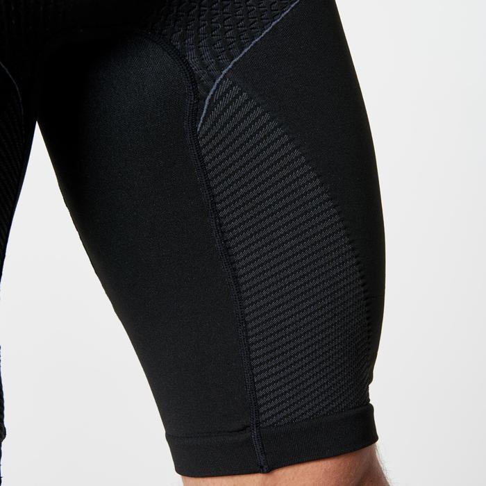 Mallas Cortas Shorts Deportivos Running Kalenji Kiprun Hombre Negro Sin Costura