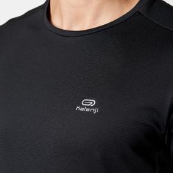 男款跑步T恤RUN DRY - 黑色