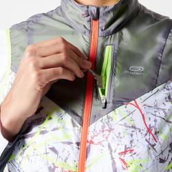 Women's Windproof Trail Running Sleeveless Jacket - Graph Grey