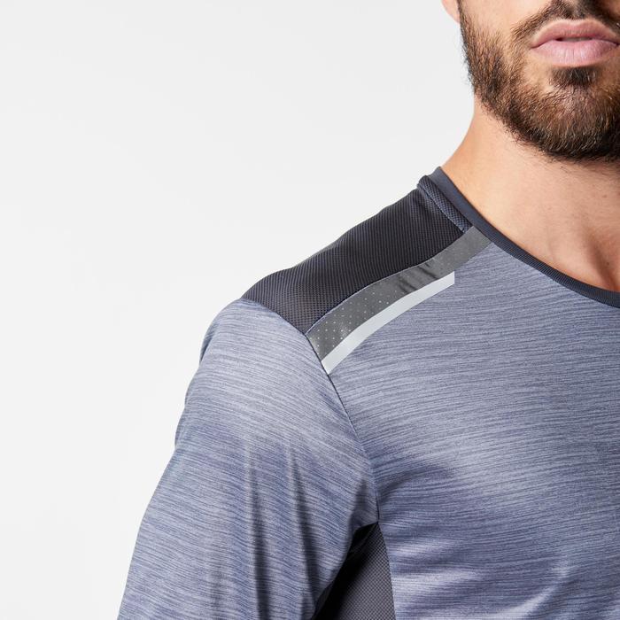 Hardloopshirt heren Run Dry+ N grijs