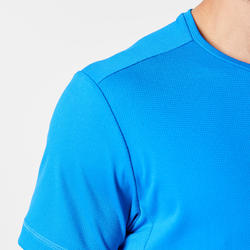 RUN DRY MEN'S RUNNING T-SHIRT - BLUE