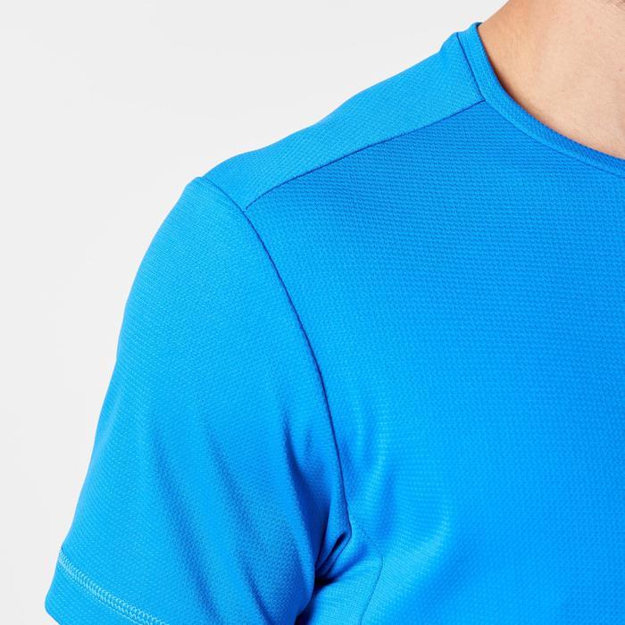T-shirt Run voor hardlopen Run Dry heren blauw