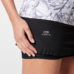 Women's Trail Running Skort - Black