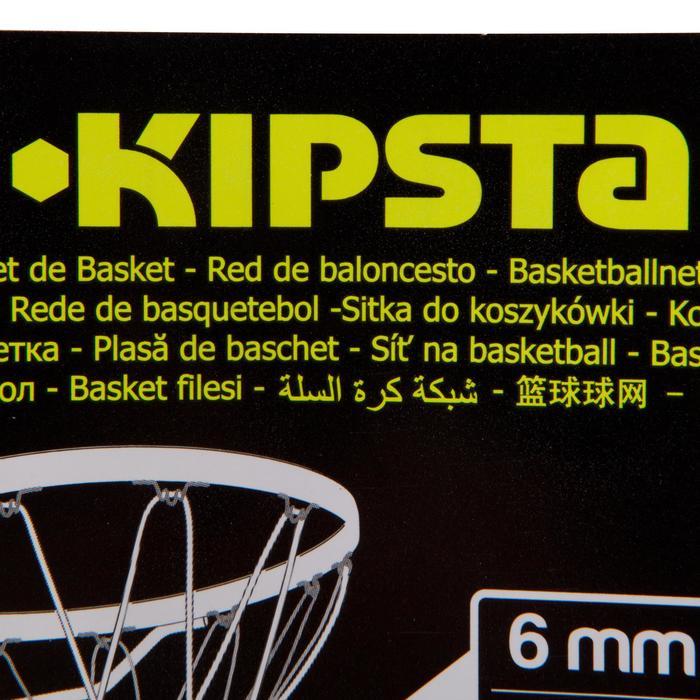 Basketballkorbnetz 6 mm weiß wetterfest