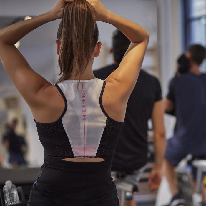 Débardeur fitness cardio femme 900 Domyos - 1263939