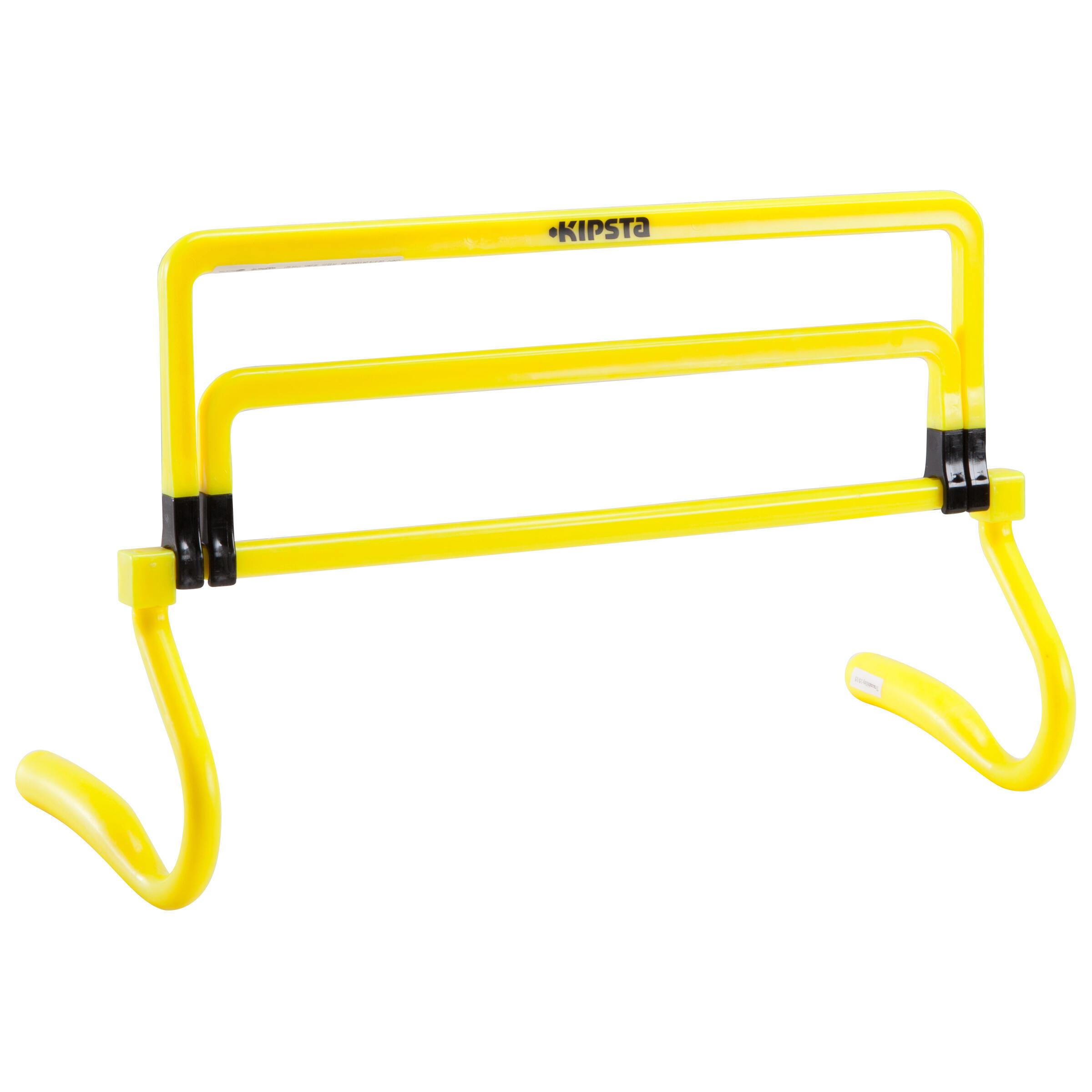 Damen,Herren,Jungen,Kinder Trainingshürde Koordinationshürde in 3 Höhen verstellbar gelb | 03583788687320