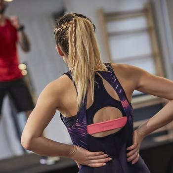 Débardeur fitness cardio femme 500 Domyos - 1263944