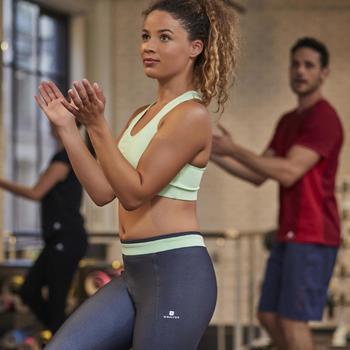 Brassière fitness cardio-training femme 100 - 1263952