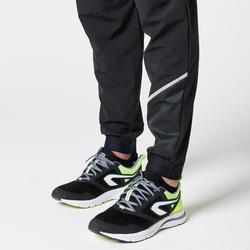 男款跑步長褲RUN DRY - 黑色