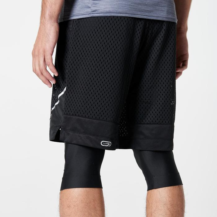 SHORT RUNNING HOMME RUN DRY + BREATHE NOIR