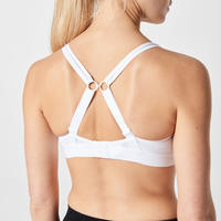 BRASSIERE DE RUNNING SUPPORT FIRST BLANCO