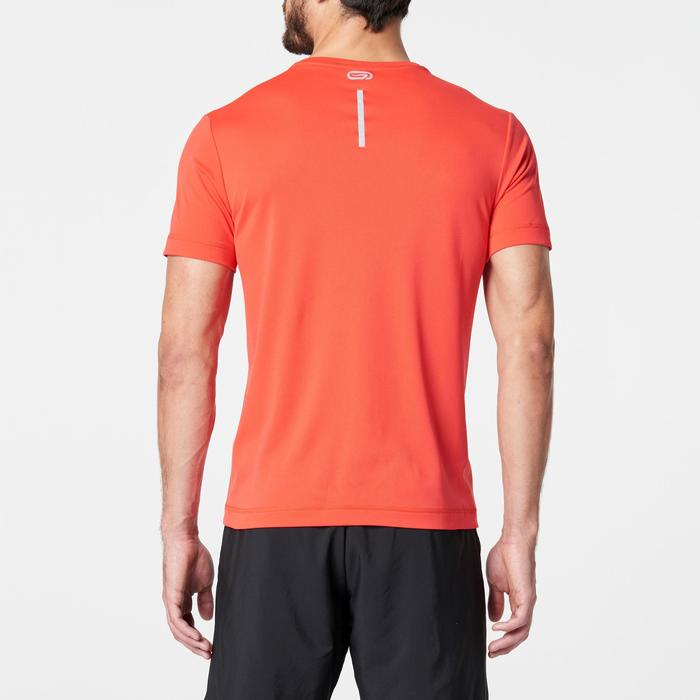 T SHIRT RUNNING HOMME RUN DRY ROUGE
