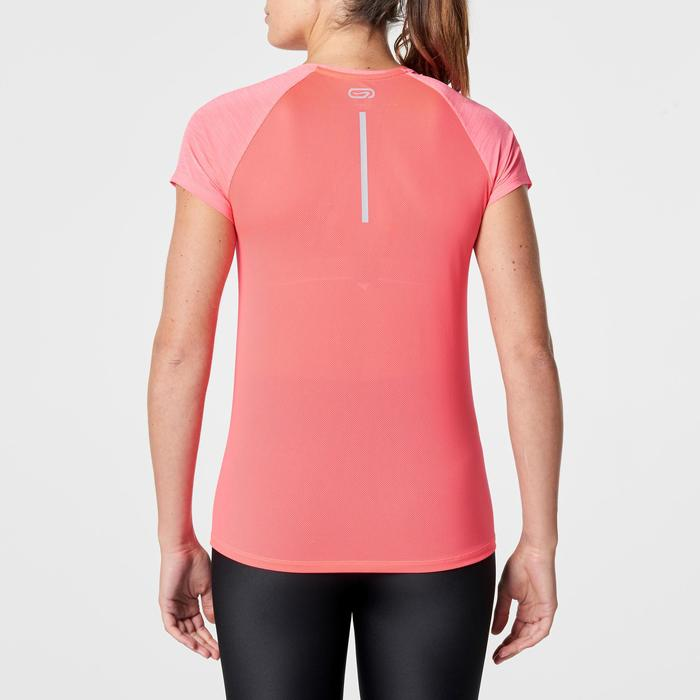 CAMISETA DE MANGA CORTA RUNNING MUJER RUN LIGHT CORAL