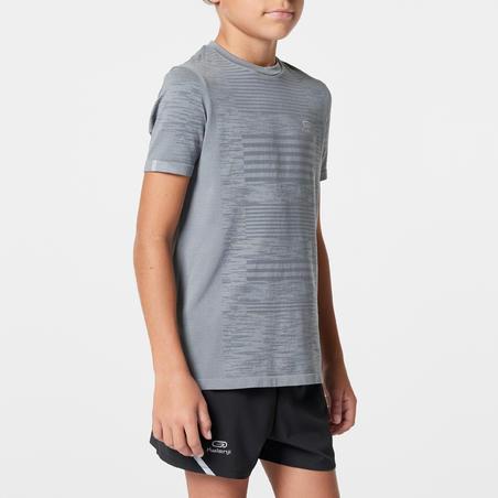 Kaus olahraga Skincare anak-anak abu-abu