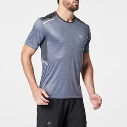 TEE SHIRT RUNNING HOMME RUN DRY+ N GRIS