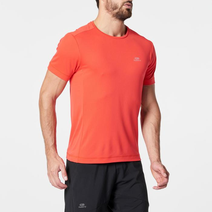 RUN DRY MEN'S RUNNING T-SHIRT - RED
