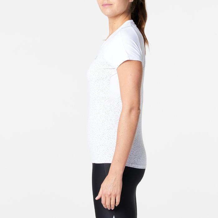 Hardloopshirt voor dames Run Dry+ wit
