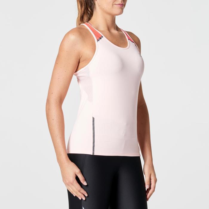 Joggingtop voor dames Run Dry+ lichtroze