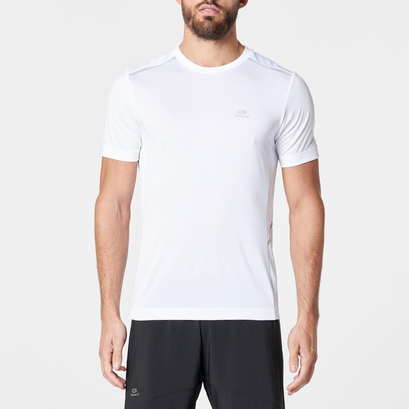 RUN DRY+ BREATH MEN'S RUNNING T-SHIRT - WHITE