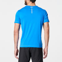 RUN DRY MEN'S RUNNING T-SHIRT - BLUE