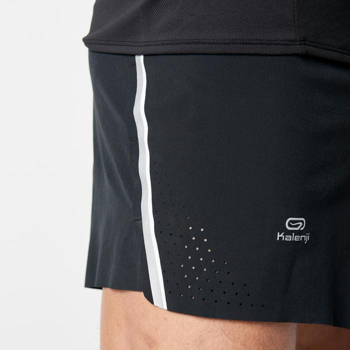 男款跑步短褲KIPRUN LIGHT+ - 黑色