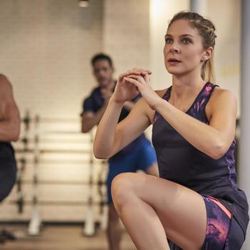 Débardeur fitness cardio femme 500 Domyos - 1264413