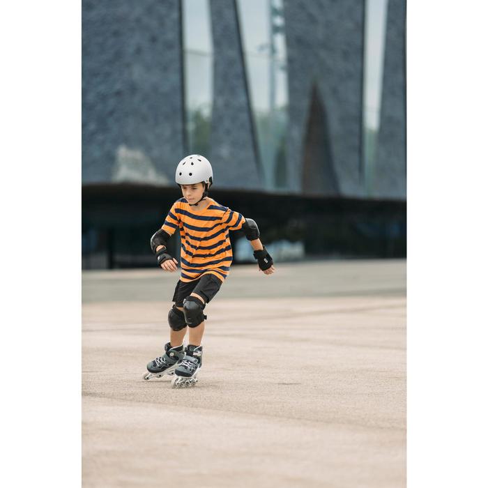 Fitness skeelers voor kinderen Fit 3 grijs