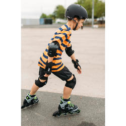 Roller fitness enfant FIT3 JR gris jaune