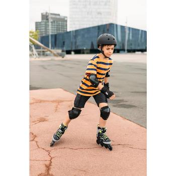 Helm voor skeeleren, skateboarden, steppen Play 5 zwart