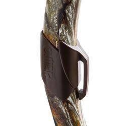 Snorkel voor harpoenduiken en vrijduiken Zoom Camu 3D