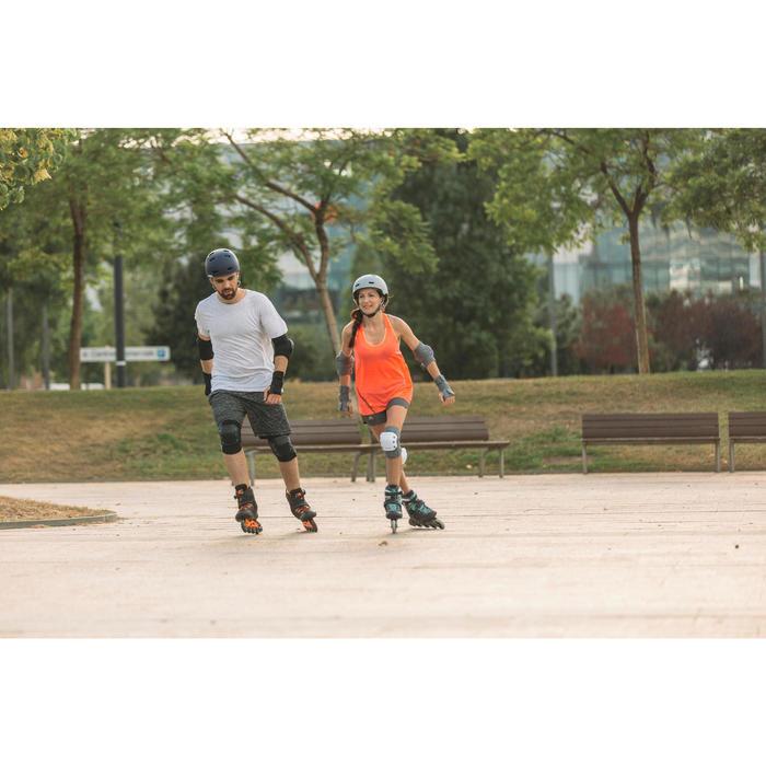 Set 3 protections roller skateboard trottinette adulte FIT 5 - 1264466