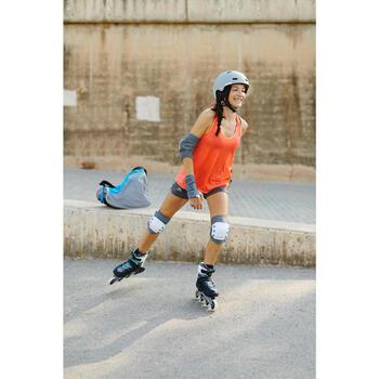 Set 3 protections roller skateboard trottinette adulte FIT 5 - 1264479