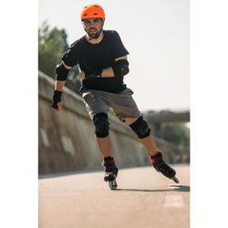 MF540 Skating Skateboarding Scootering Helmet - Neon Orange