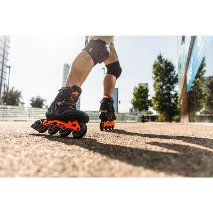 Set 3 protections roller skateboard trottinette adulte FIT 5 - 1264500