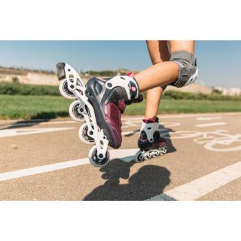 Roller fitness femme FIT500 Urban Prune