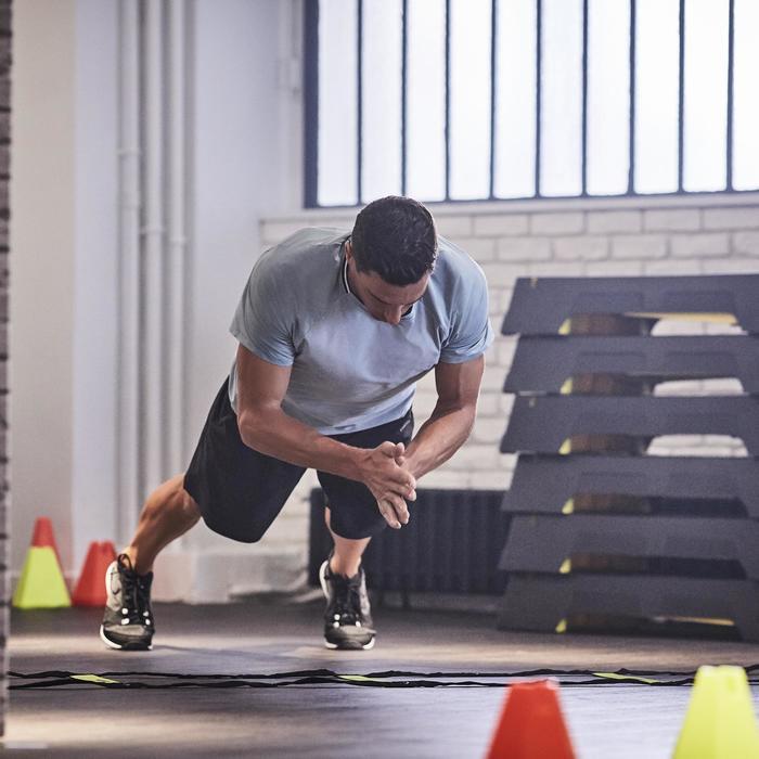 Sporthose kurz Cardio FST 900 Fitness Herren schwarz