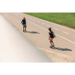 Fitness skeelers voor dames Fit 500 urban prune