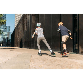 Inline-Skates Inliner Fitness FIT 500 Techno Herren rot