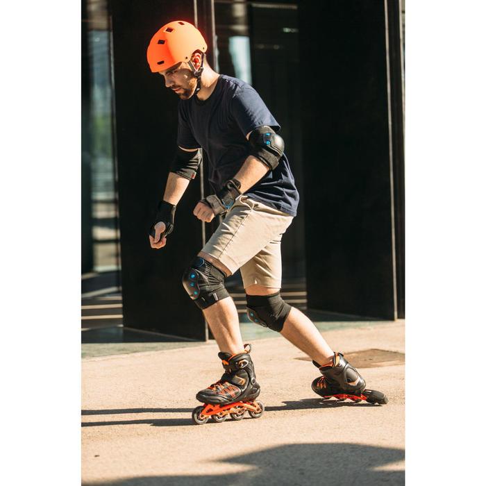 Set 3 protections roller skateboard trottinette adulte FIT 5 - 1264521
