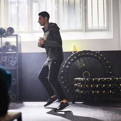 Trainingshose FPA500 Cardio-/Fitnesstraining Herren schwarz