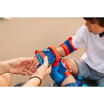 Set skatebeschermers voor kinderen Play blauw